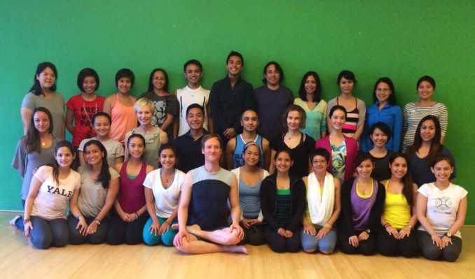 Yoga Teacher Workshop in Manila mit Jason Crandell