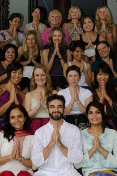 Die Absolventen des 200 Hr Yoga Teacher Trainings, The Yoga Institute