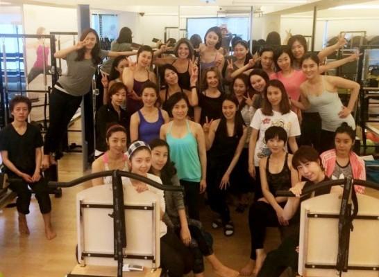 ZEN*GA Kurs in Seoul mit PJ O'Claire (STOTT Pilates Master Instructor)