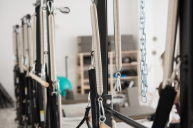 inside a Pilates studio