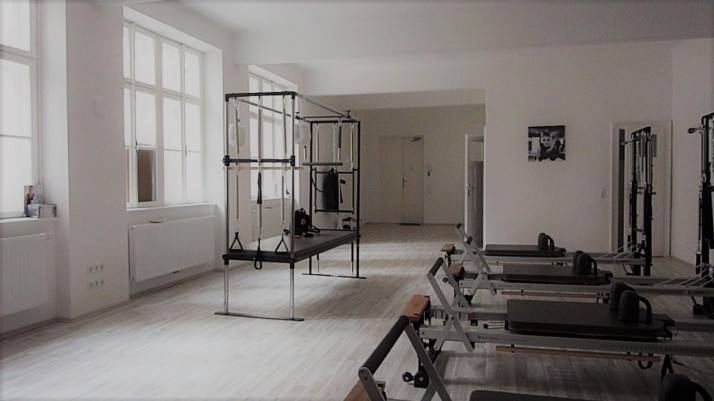 pilates studio equipped with Cadillac and Reformers