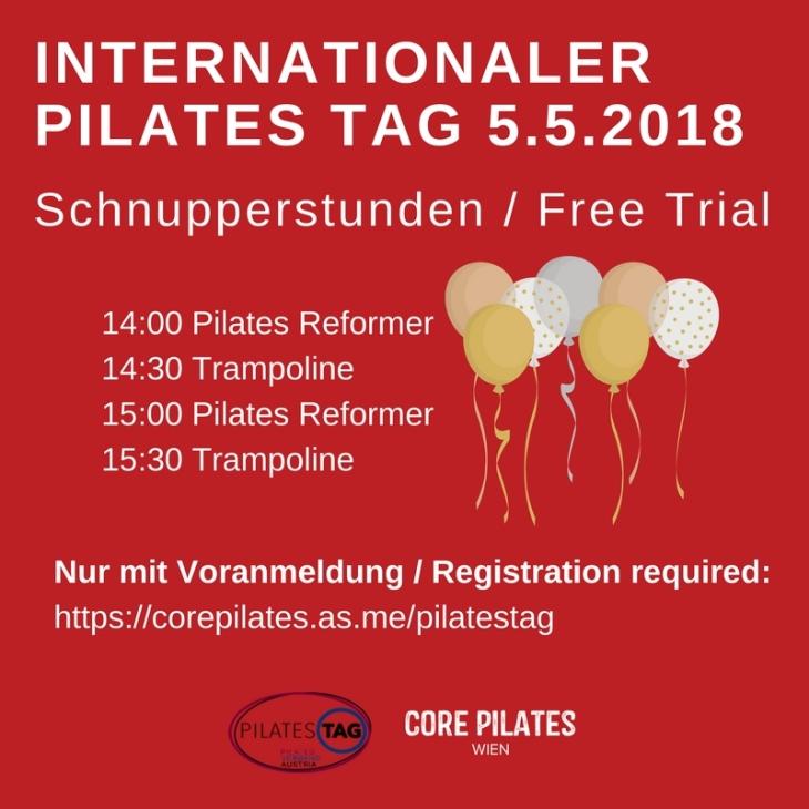 Pilates Trial Classes at Core Pilates Studio Vienna