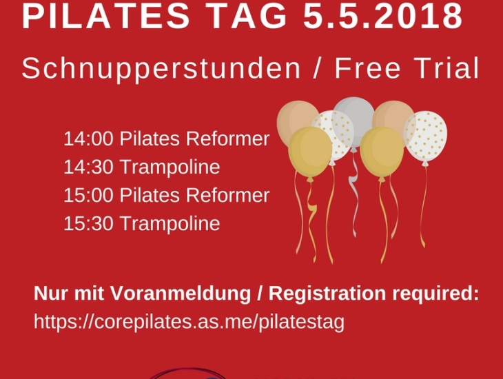 Pilates Trial Classes at Core Pilates Studio Vienna