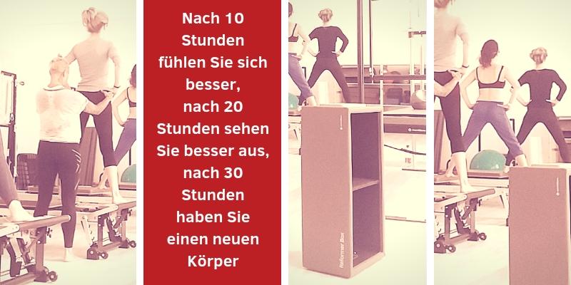 Pilates Gruppenstunden auf Reformer in Wien